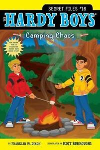 Camping-Chaos-Hardy-Boys-The-Secret-Files-Dixon-Franklin-W-Used-Good