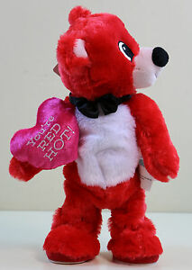 Gemmy Valentines Day Teddy Bear Animated Twerking Baby Got Back