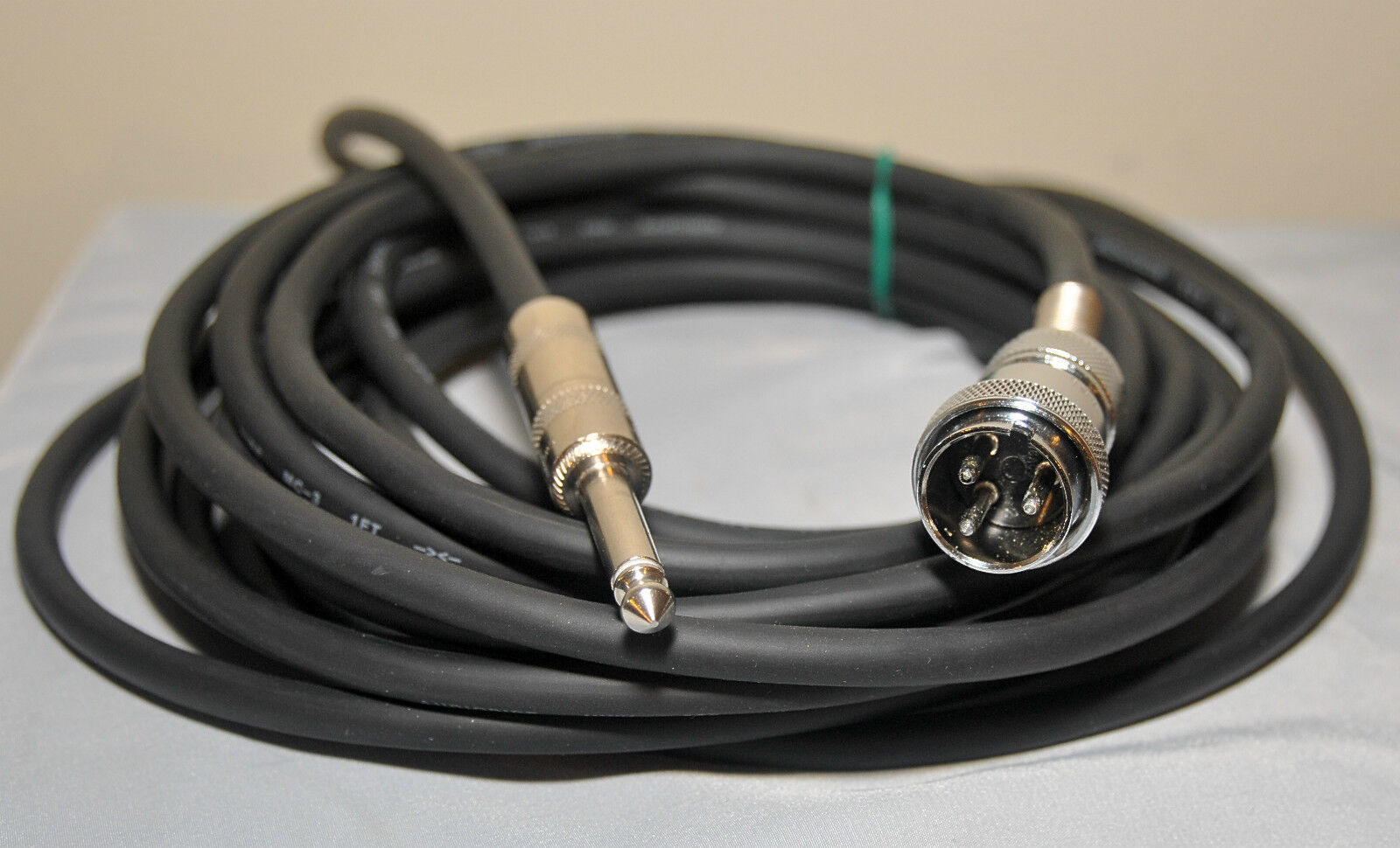 Electro-Voice HI-Z  EV-630 & V3 Microphone Cable 20' 3-Pin to 1 4  Male Plug