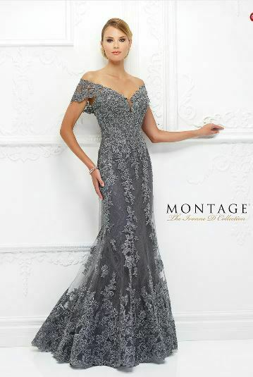MON CHERI, Montage, The Ivonna D Collection, 118D12, Size 8 (Wedding or Prom)