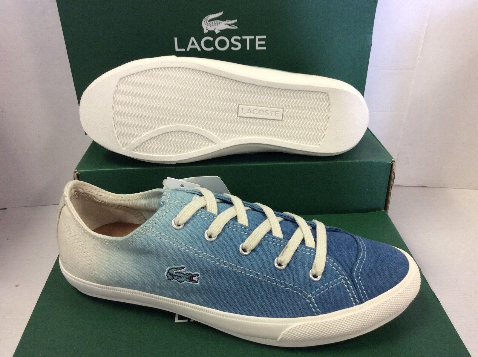 Lacoste Fairburn W11 Para mujeres Tenis con Cordones Zapatillas Zapatos, Size