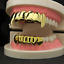 Gold-Plated-Hip-Hop-Teeth-Grillz-Top-amp-Bottom-Grill-Mouth-Teeth-Grills-Gangster thumbnail 5