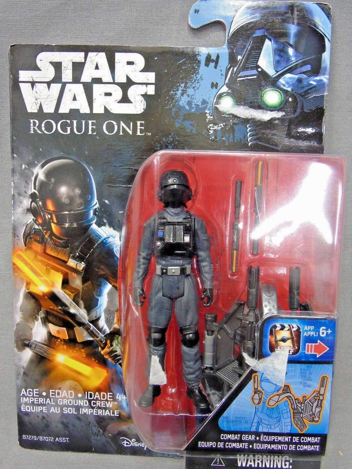 Star Wars Rogue One Imperial Ground Crew Figure 3.75 Inch Wave 1 New!
