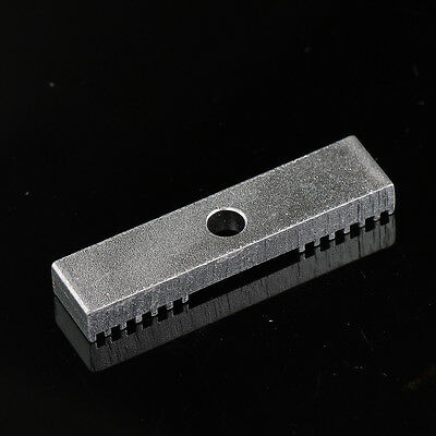 Alloy GT2 Belt Clamp For RepRap 3D Printer I3 Linear Motion Silver