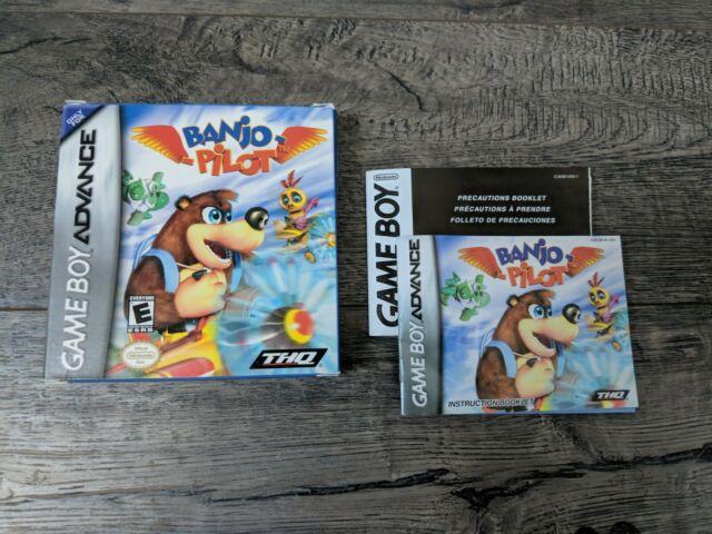 Banjo-Pilot (Nintendo Game Boy Advance 2005) Box and Manual Only