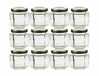 Cornucopia Brands Hexagon Glass Jars Pack Of 12 4oz Free Shipping