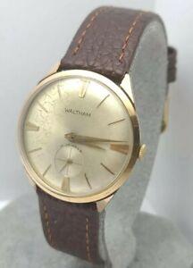 Vintage-Waltham-531Y-49-Men-039-s-manual-winding-watch-FHF-81-17Jewels-swiss-1960s