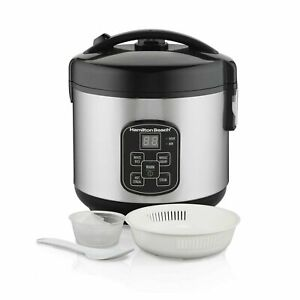 Hamilton-Beach-Digital-Programmable-Rice-Cooker-amp-Food-Steamer-8-Cups-Cooked-4