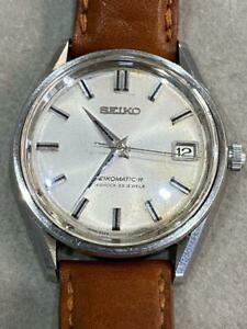 Seiko-8325-8000-Vintage-39-Jewels-Matic-R-Overhaul-Date-SS-Automatic-Mens-Watch