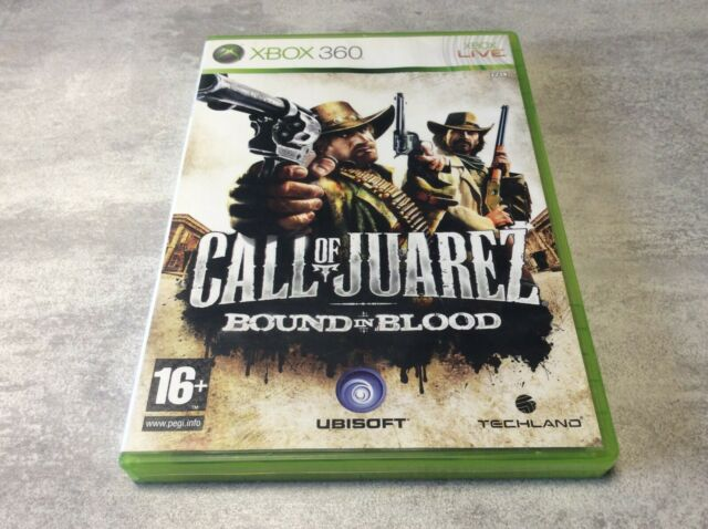 XBOX 360 Call Of Juarez Bound In Blood COJ XBOX MICROSOFT PAL FR COMPLET