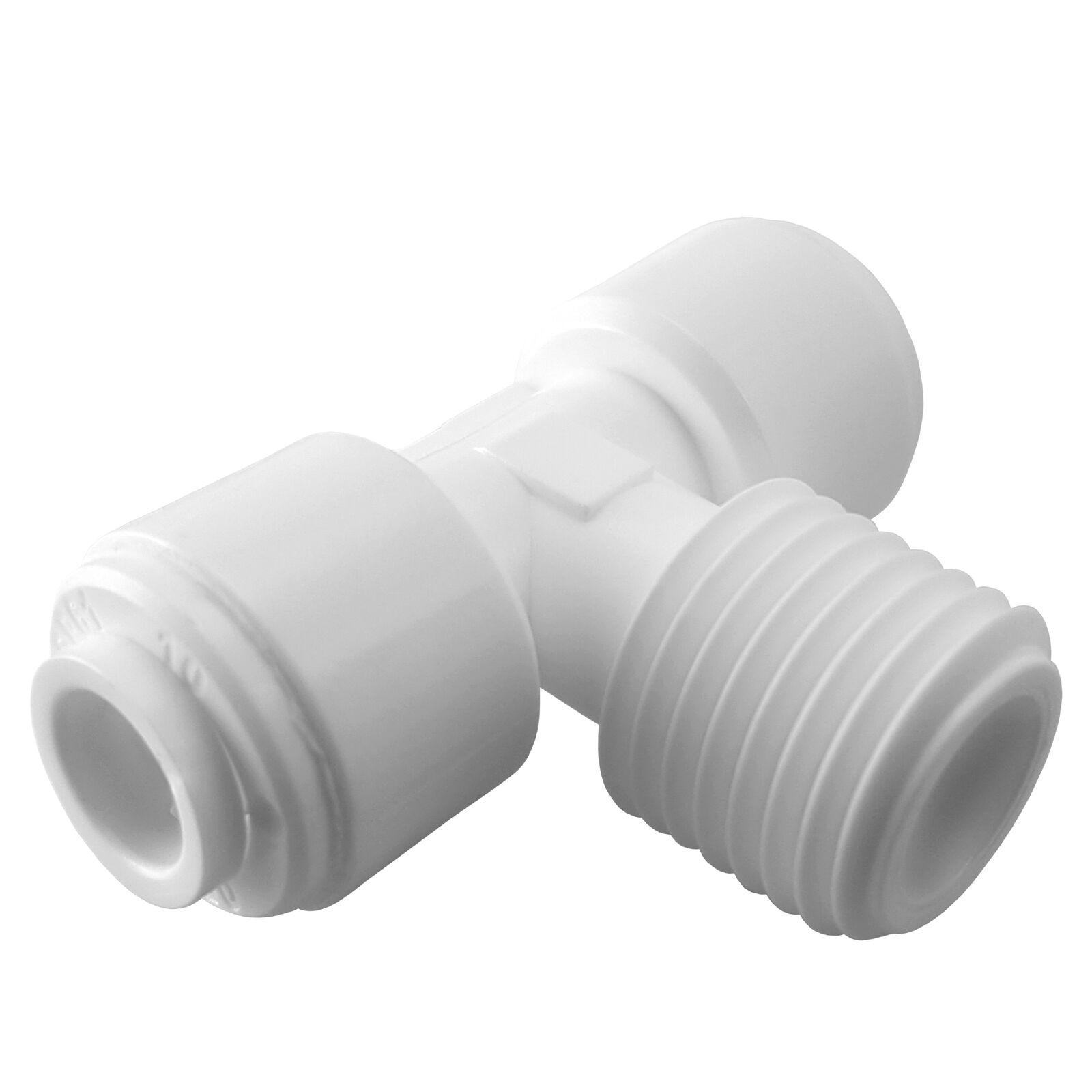 Express Water Male Branch Tee 1 4  Fitting Connection Water Filters   RO System
