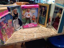 NRFB Lot of 5 Barbie Halloween GiftSet with Kelly, Fashion Tale, Hallmark, Avon