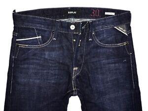 Herrenjeans Denim 5 Oz l32 Jeans M983 Neu Replay Deep 11 W32 Waitom Blue w7fqFxpv