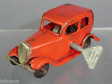 """TRI-ANG MINIC MODEL No.MI FORD ( """"£100"""") SALOON  RED VERSION NZ EDITION?"""