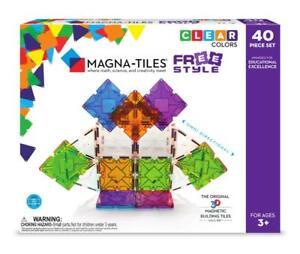 Magna-Tiles-40-Piece-Freestyle-Set-Magnetic-Building-Creativity-Educational
