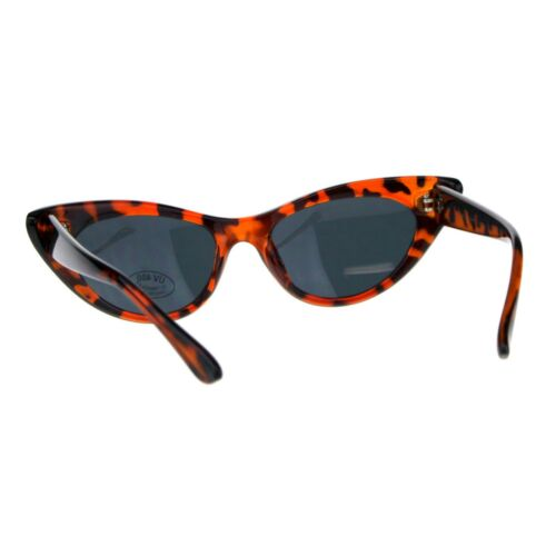 Womens Cateye Fashion Sunglasses Unique Curved End Frame UV 400