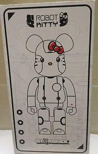 Medicom-Bearbrick-Be-rbrick-400-Action-City-Robot-Hello-Kitty-White