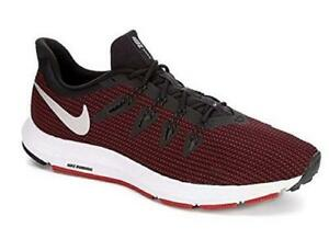 069332b86c8e5 NIKE QUEST Red+Black Men s Running Sneakers Shoes AA7403 NEW
