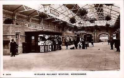 Morecambe. Midland Railway Station # S 2428 by WHS Kingsway. Ladies Lavatory.