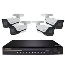 New Q-See QCK81-4HF-2 8 Ch. 4K Security 2TB NVR & 4 Camera w/ Color Night Vision