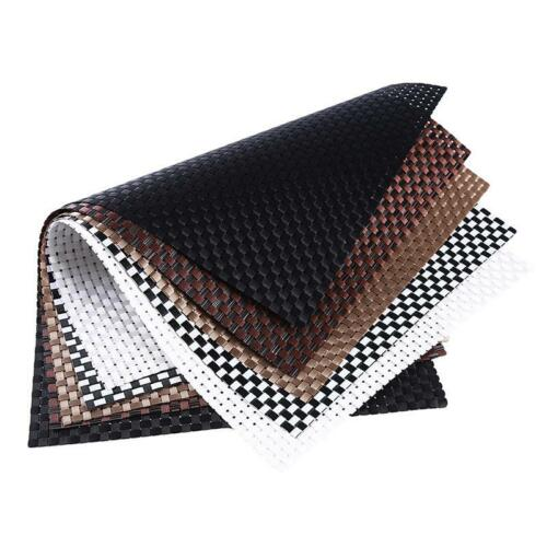 Dining Table Place Mats Heat Insulation Non Slip Woven Placemat Mat Pad C