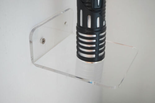 Wall Mount Lightsaber Holder Lightsaber Vertical Wall Rack// Star Wars Holder
