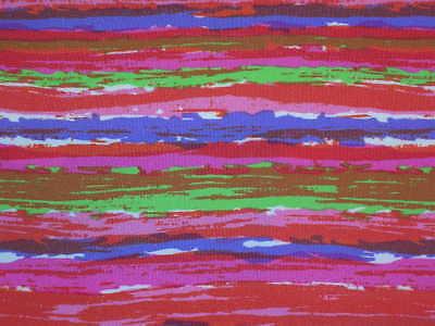 "Striped lycra fabric nylon designer sport material 4Way By the yard x 56"""