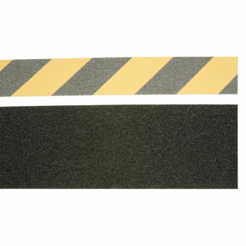 ULTRATAPE noir et jaune antidérapante danger ruban 50 mm x 5 m