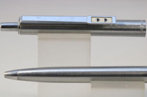 c1980 Paper Mate Profile Flighter Ballpoint Pen with Chrome Trim Vintage