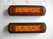 LED Markierungsleuchte Umriss leuchte Positionsleuchte Begrenzungsleuchte Orange