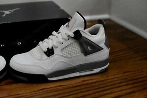 c8e0b010cb8 Image is loading Nike-Air-Jordan-Retro-4-GS-Cement-2012-