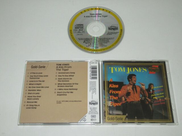 TOM JONES/A KISS FROM THE TIGER(ARIOLA EXPRESS 295 481) CD ALBUM