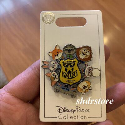 SHDR Disney Pin 2018 Zootopia judy nick bookstyle Shanghai Disneyland Park