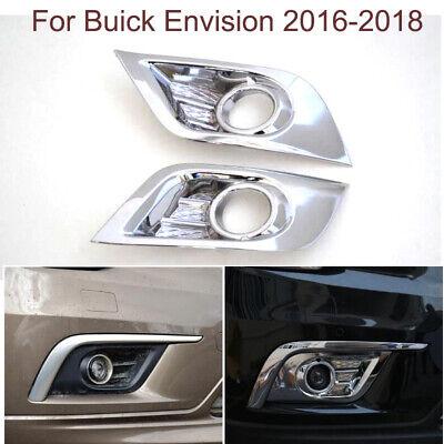 New Chrome Head Light Frame Trim For Buick Envision 2016 2017