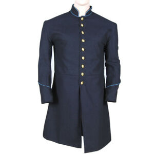 Raisonnable Us Civil War Union Enlisted Federal Infantry Single Breasted Frock Coat-all Size