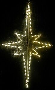 image is loading christmas nativity star xmas outdoor led lighted decoration