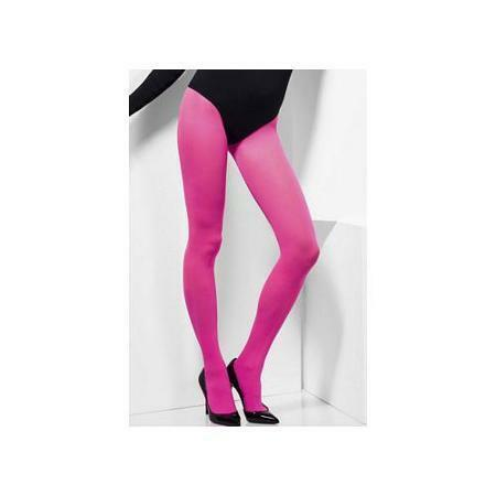 Opaque Tights Donna Caldo Rosa Collant Costume Accessorio