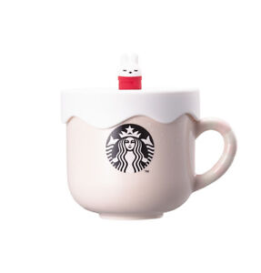 Starbucks Christmas Mugs 2019 Starbucks] Korea Holiday Rabbit Silicon Mug 355ml / 2019 Christmas