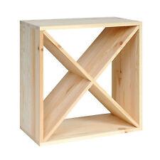 "Weinregal ""Cube 48"" modulares System - H 48 x B 48 x T 23,5 cm"
