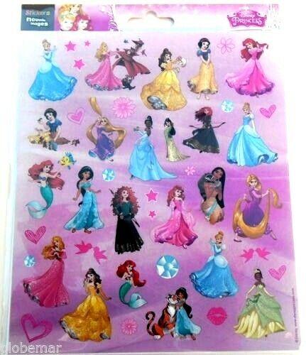 Stickers Disney Princesses pour décorer ordinateurs portables consoles agendas