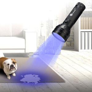 Led Flash Light Uv Light Pet Dog Cat Urine Finder Stain Detector Pet