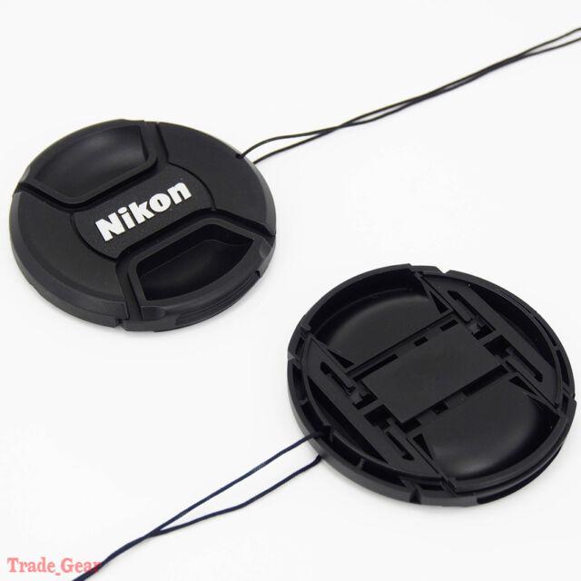 52mm Camera Snap-on Front Lens Cap cover For Nikon D40 D50 D60 D90 D3000 D5100