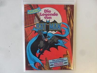 Softcover Die Großen Superhelden # 2 Batman Süß GehäRtet Ehapa Zustand: 1 Weich Und Rutschhemmend