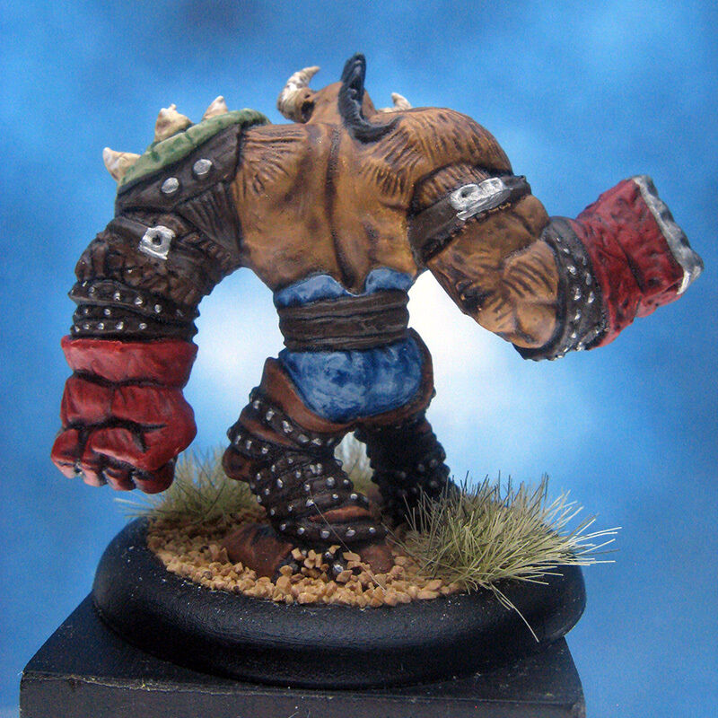 Painted Painted Painted Ral Partha MageKnight Miniature Troll Brawler dd8585