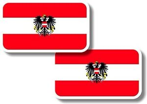 Vinyl-sticker-decal-Small-70mm-Austria-flags-pair