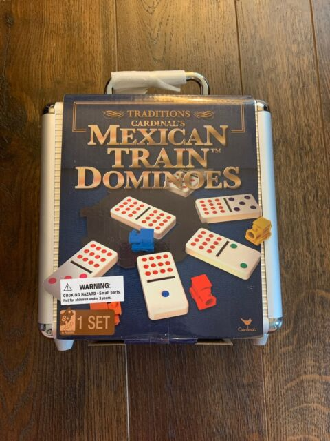 Cardinal Mexican Train Domino Game - Brand New Sealed