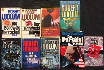 Matlock Affäre U A 9 Romane Von Robert Ludlum Paket Sammlung Zur Verbesserung Der Durchblutung V