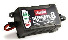 TELWIN mantenitore di carica DEFENDER 8 allenatore batterie 6/12V auto e moto