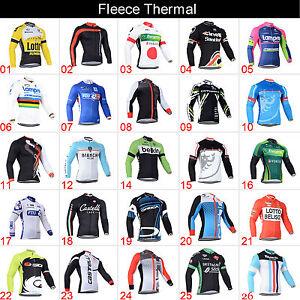 meilleure-vente-hommes-CYCLISME-hiver-thermique-velo-equitation-polaire-maillots
