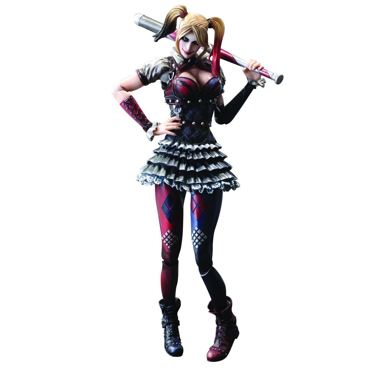 Harley quinn batman arkham ritter spielen kunst kai abbildung mib